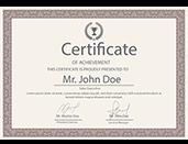 Сертификат КлиникаАТ